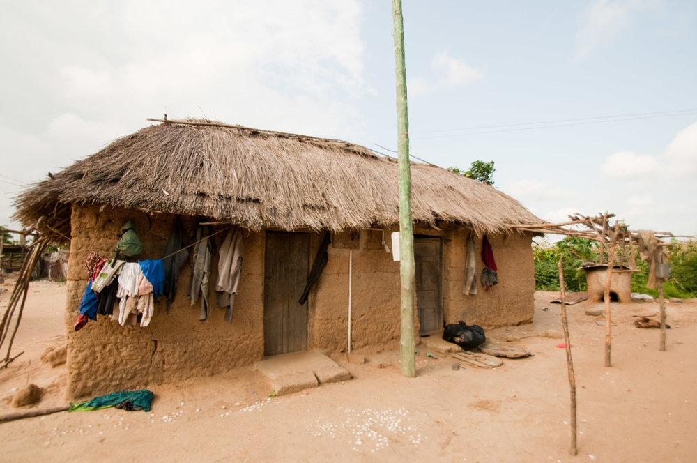 Belinda's home village