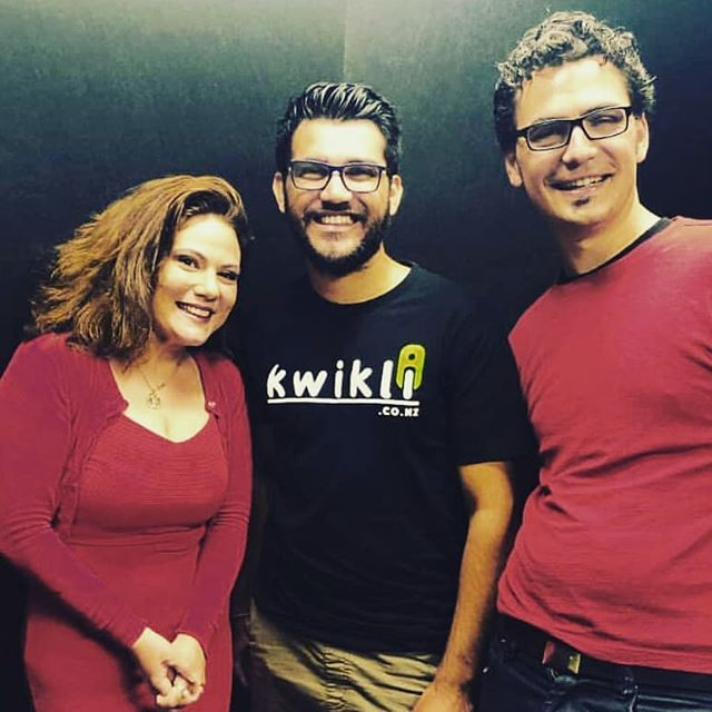 Catch Kwikli on the EVTalk Podcast with these two awesome hosts, Theo and @deehobbit