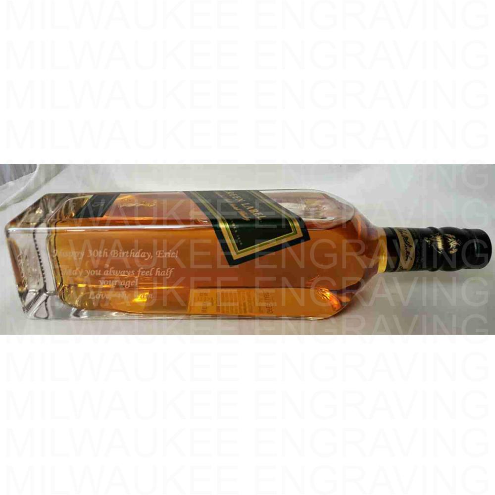 liquor bottle, custom engraving, engraver, gift ideas, gifts, personal, bar