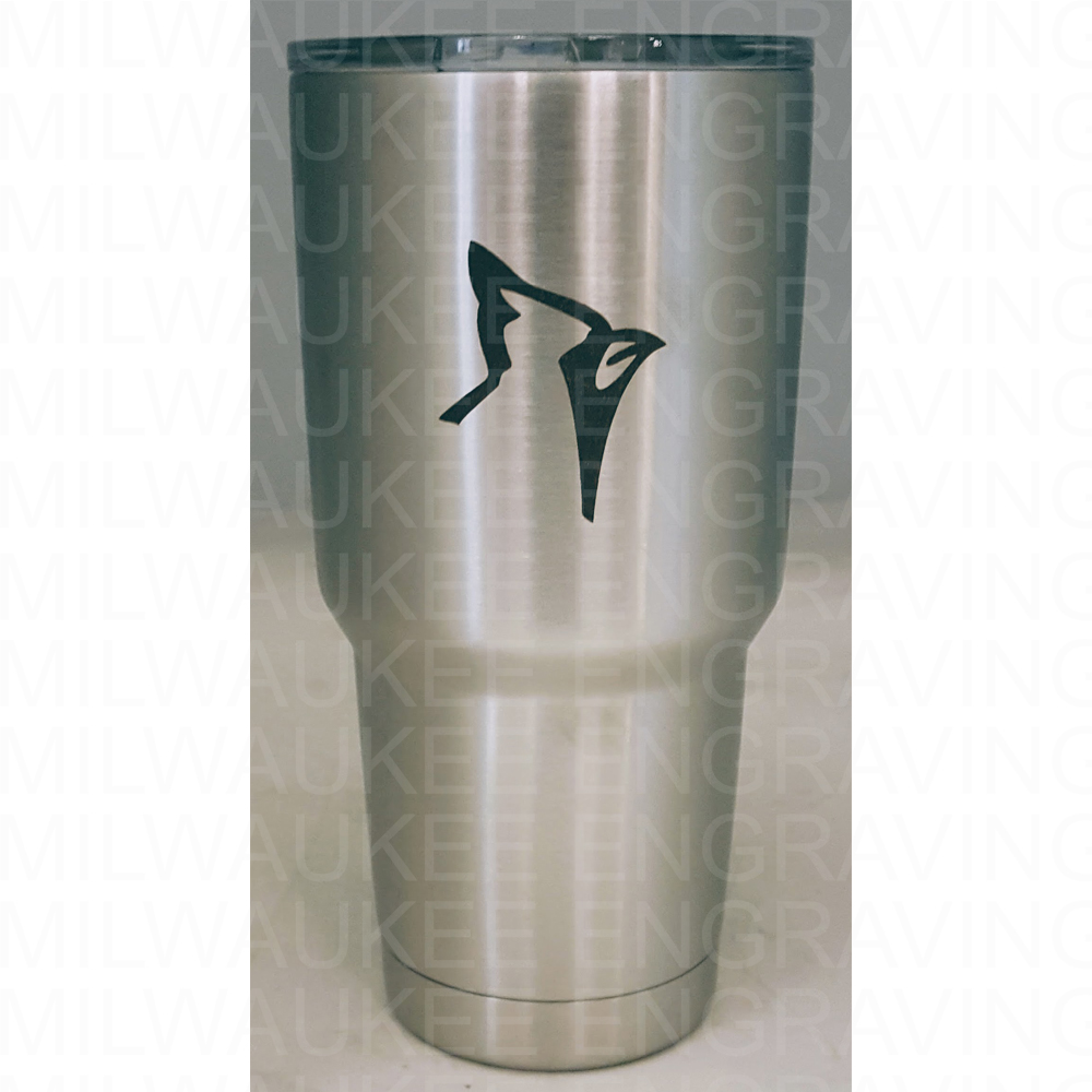 engraved drinkware, stainless steel cups, engraving