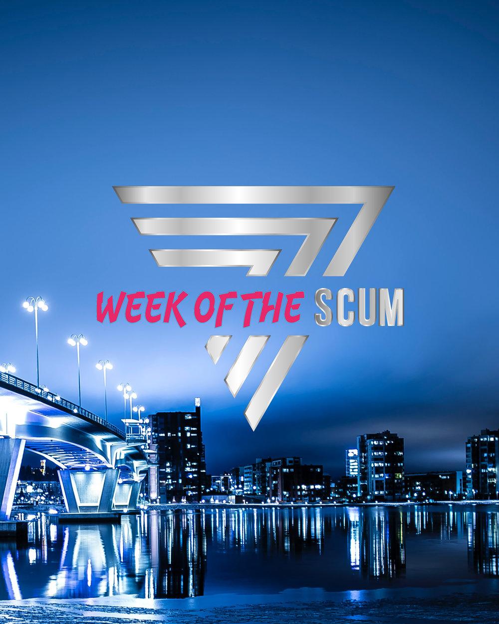 Een hele week lang creatie van 't stad made by SCUM STUDIOS.