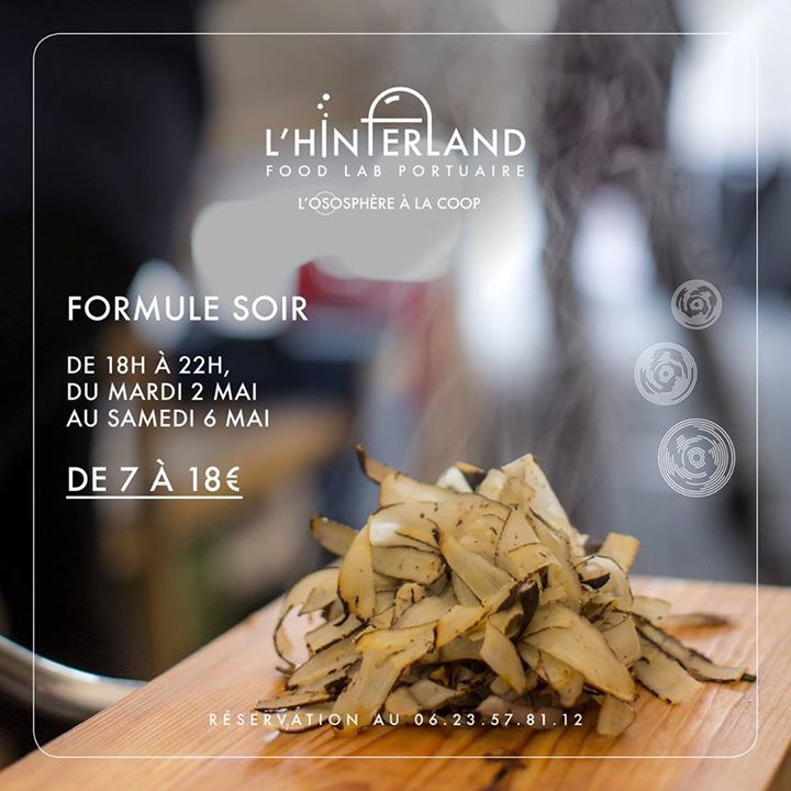 L'Hinterland restaurant éphémère, Ososphère, mai 2017