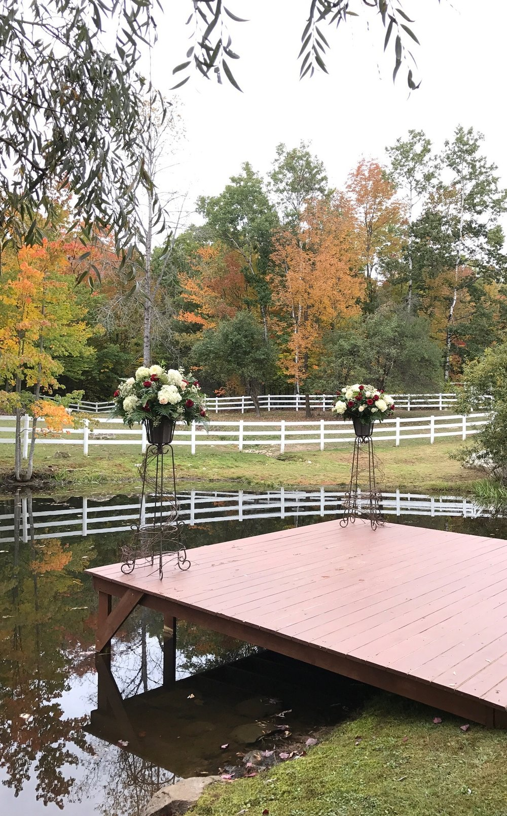 Beautiful Ceremony Location on the Family Farm