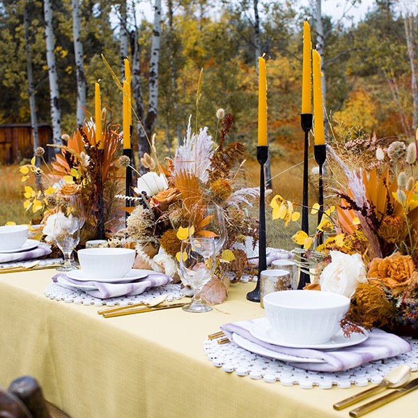 Fall Natural Tablescape