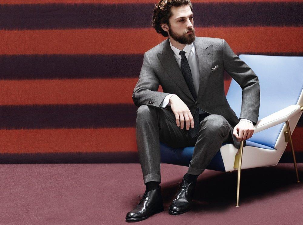Custom Tailored Men's Suits in Boston
