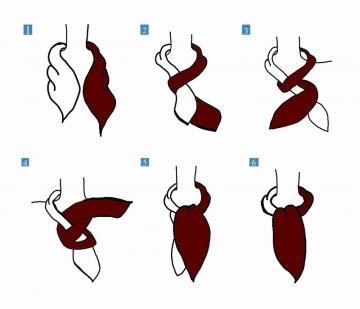 4 best ways tie scarf ascot .jpg
