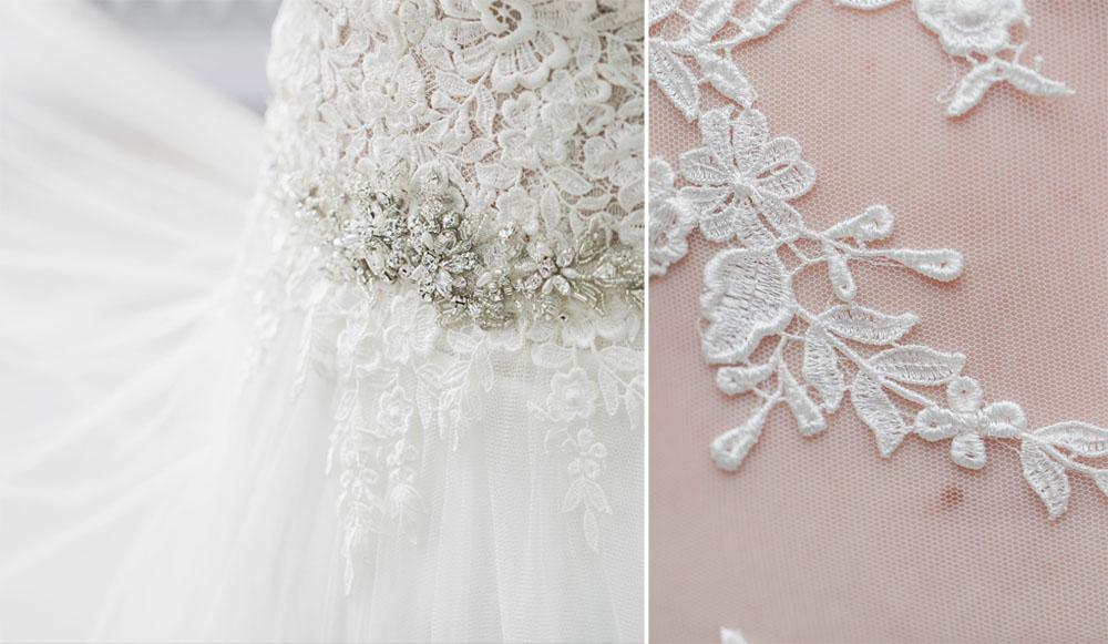 Morgan Bress Photography | Lindsay Wedding Photographer | Kawartha Lakes Wedding Photographer | Ontario Wedding Photographer |  Apple Orchard Wedding, Wedding Dress, Wedding Dress Detail, Light and Airy