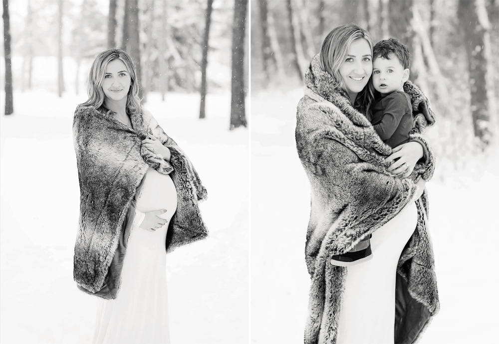 Winter Maternity Session | Morgan Bress Photography
