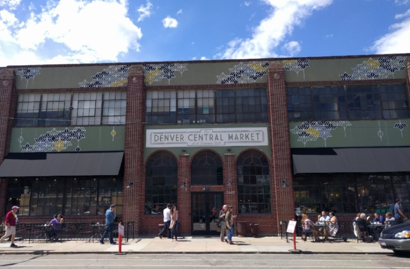 Denver Central Market Entrance