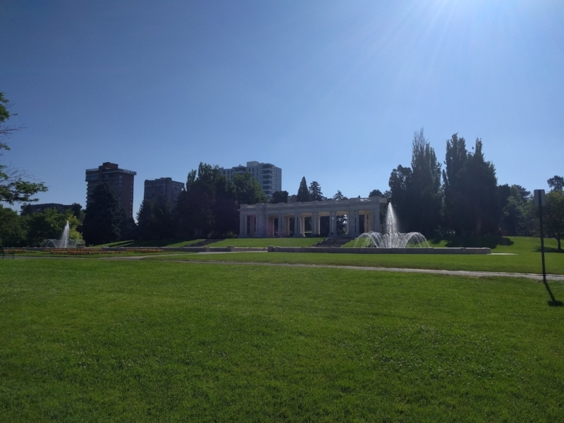 Cheesman Park in Denver, Colorado