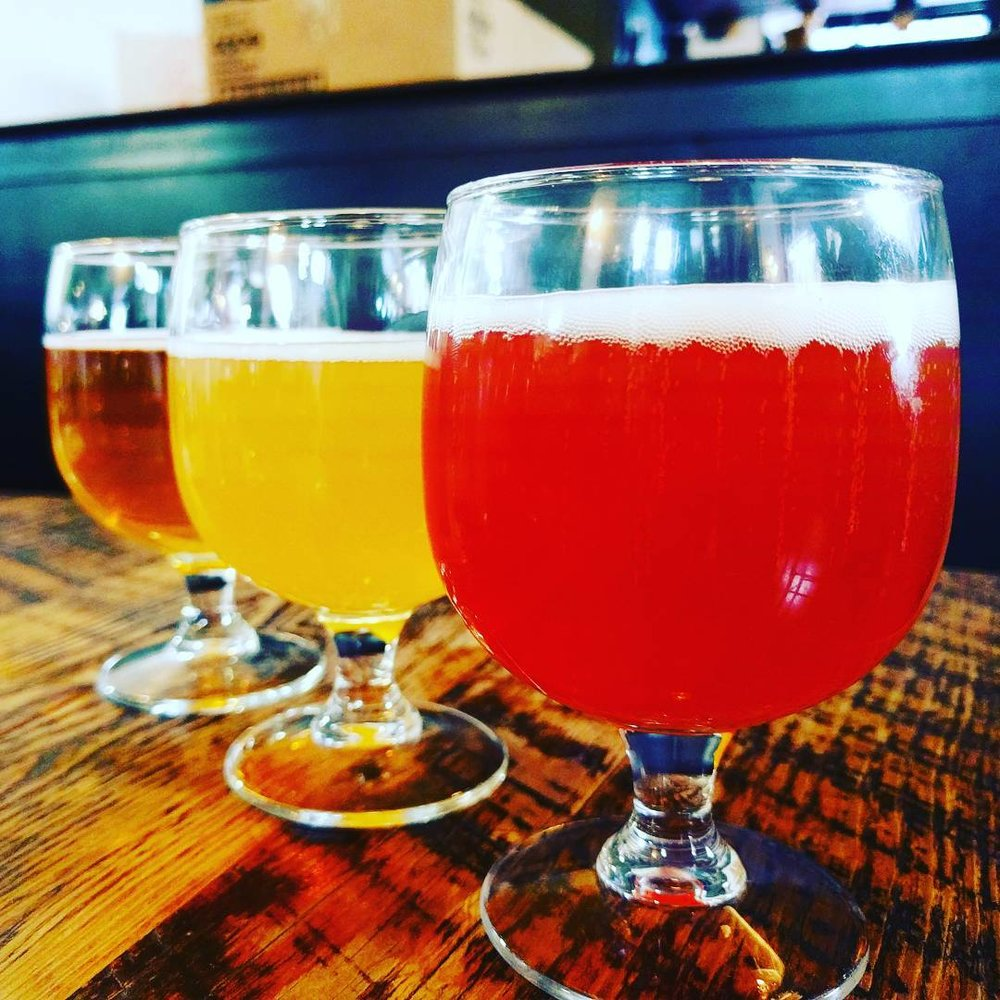 Beer Flight at Great Divide Brewing