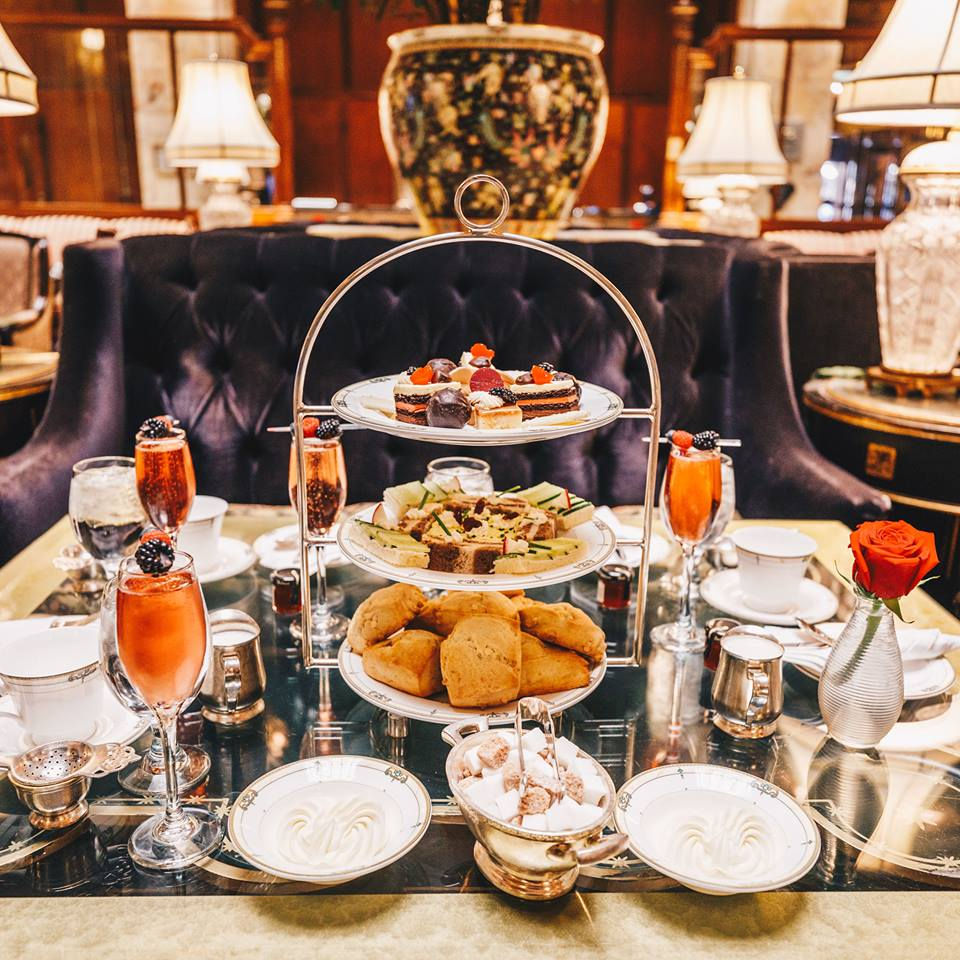 Afternoon Tea at the Brown Palace. Photo credit: Brown Palace Facebook