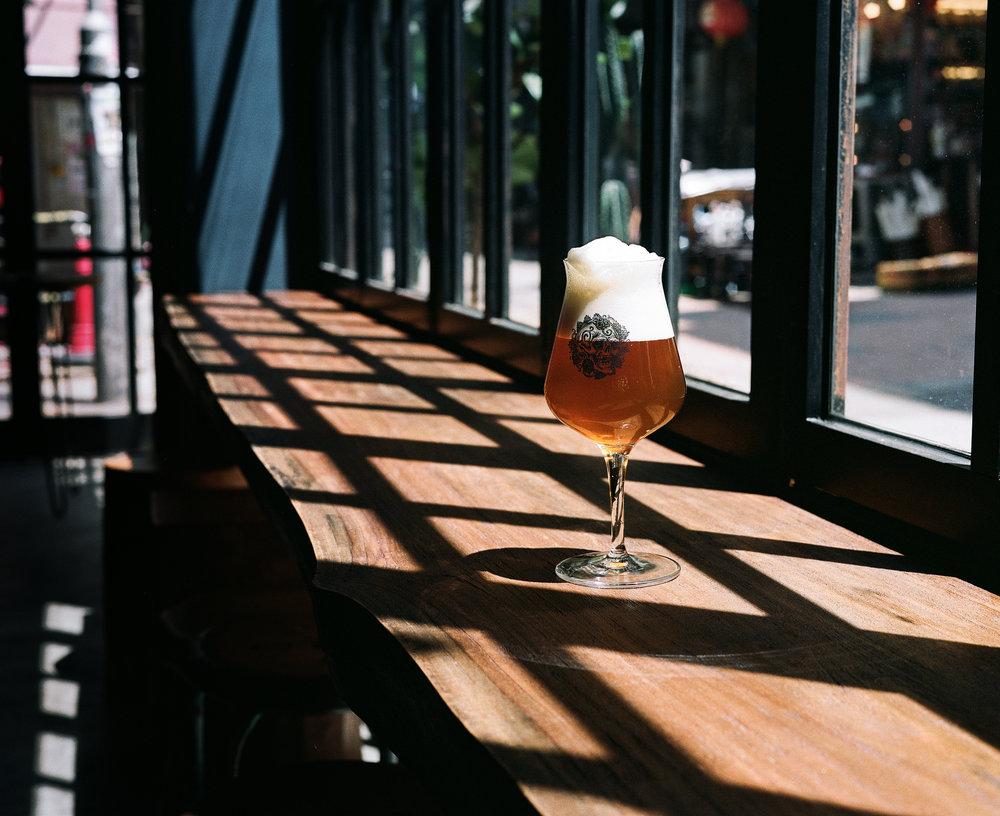 Bottle conditioned craft beer Hong Kong Blue Supreme Bar