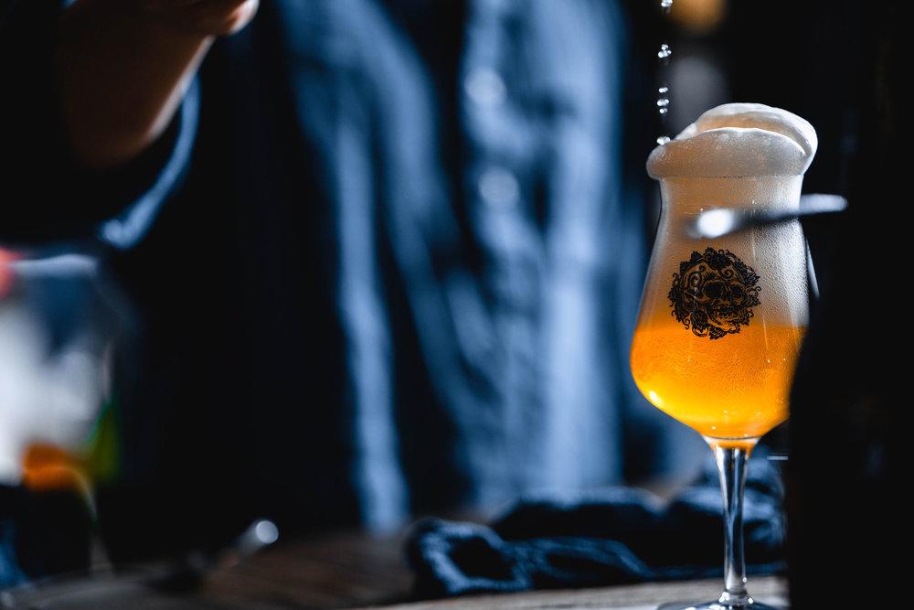 Farmhouse ale hong kong craft beer bar blue supreme