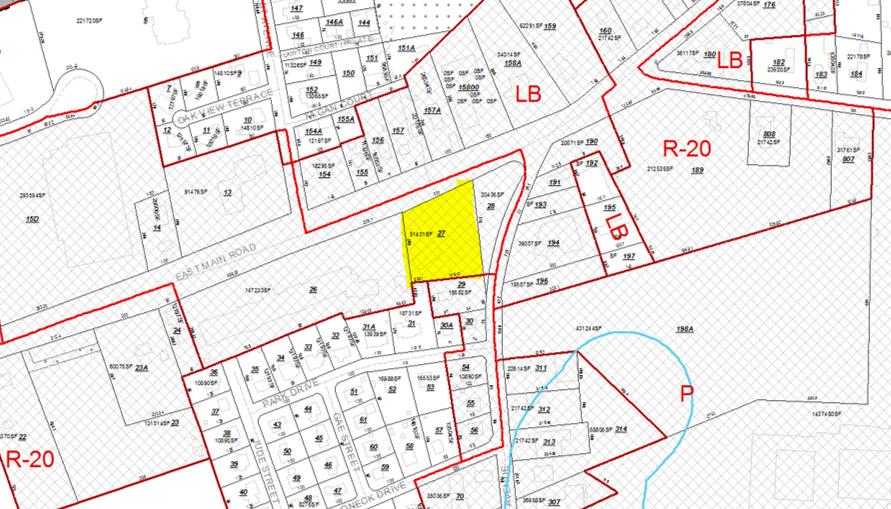 Plat Map 499 East Main Road Middletown RI 02842