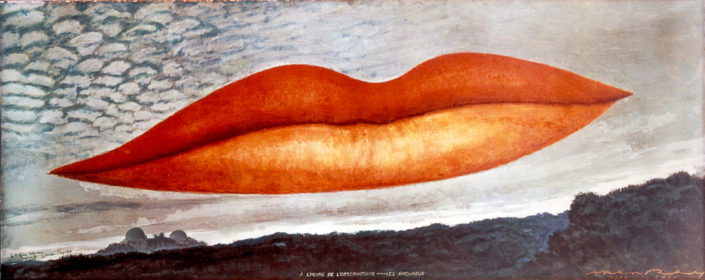 Lee Miller's lips, as depicted by Man Ray in  Observatory Time  (1934) / Credit:  Blind Flaneur