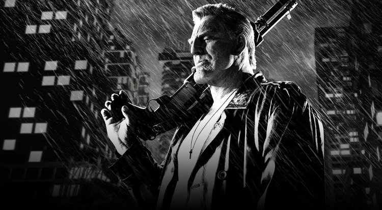 A still from  Sin City: A Dame to Kill For  (2014, Miramax)