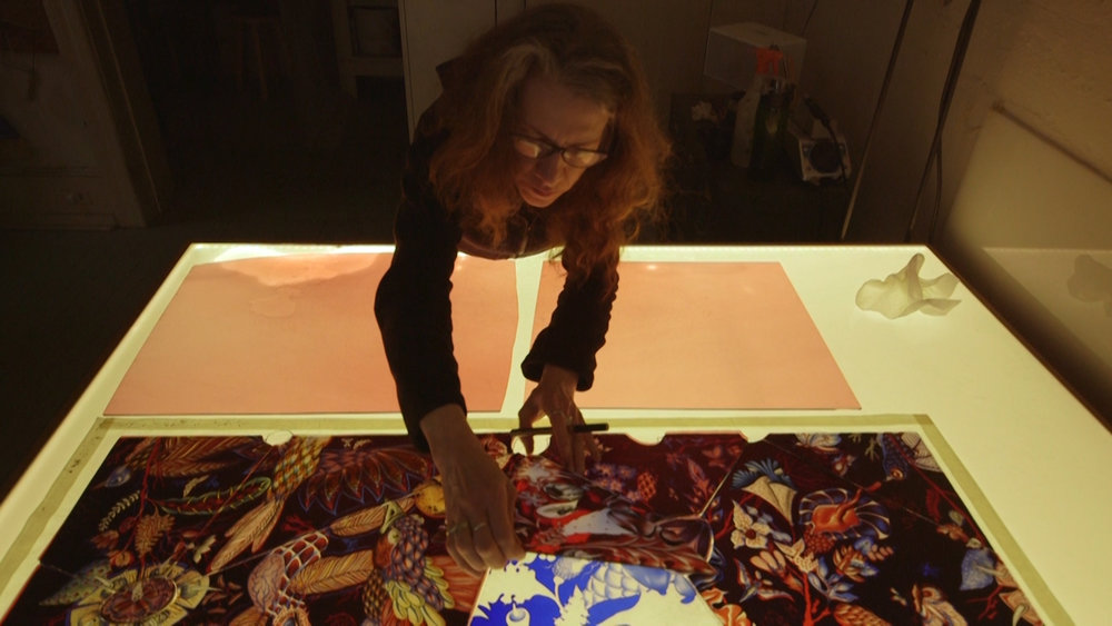 The Cutting Edge of Stained Glass - Judith Schaechter applies avant-garde sensibilities to a once traditional art form:stained glass.Season 1, Episode 8
