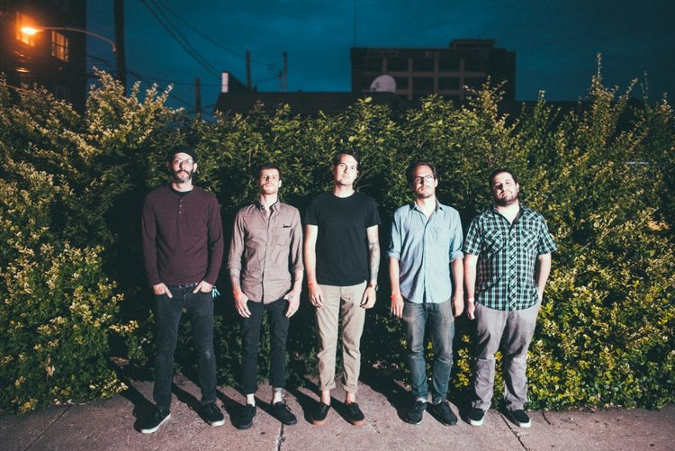 A promotional photo of the band, Restorations.