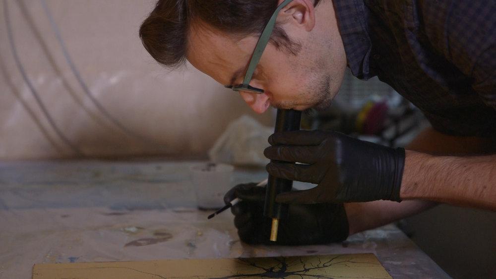 Gren Dunn blowing to make art.jpg