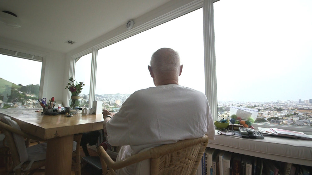 Ron Nagle sitting in his home in San Francisco.jpg