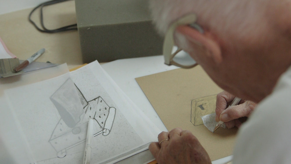 Ron Nagle planning out a sculpture.jpg
