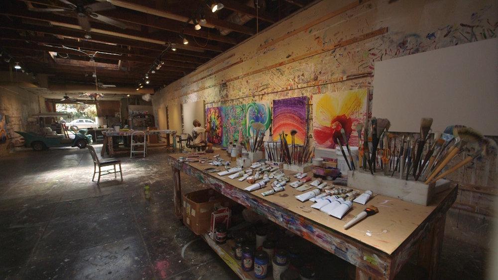 Kenny Scharf's studio.jpg