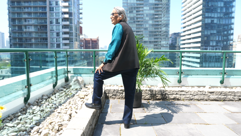 Balkrishna Doshi looking out over Toronto 2.png