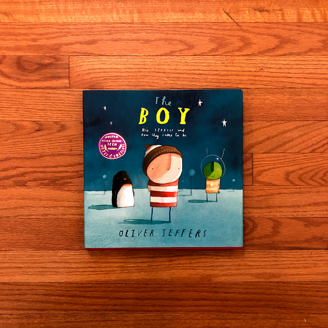 Click to win an autographed copy of one of Oliver Jeffers' books.