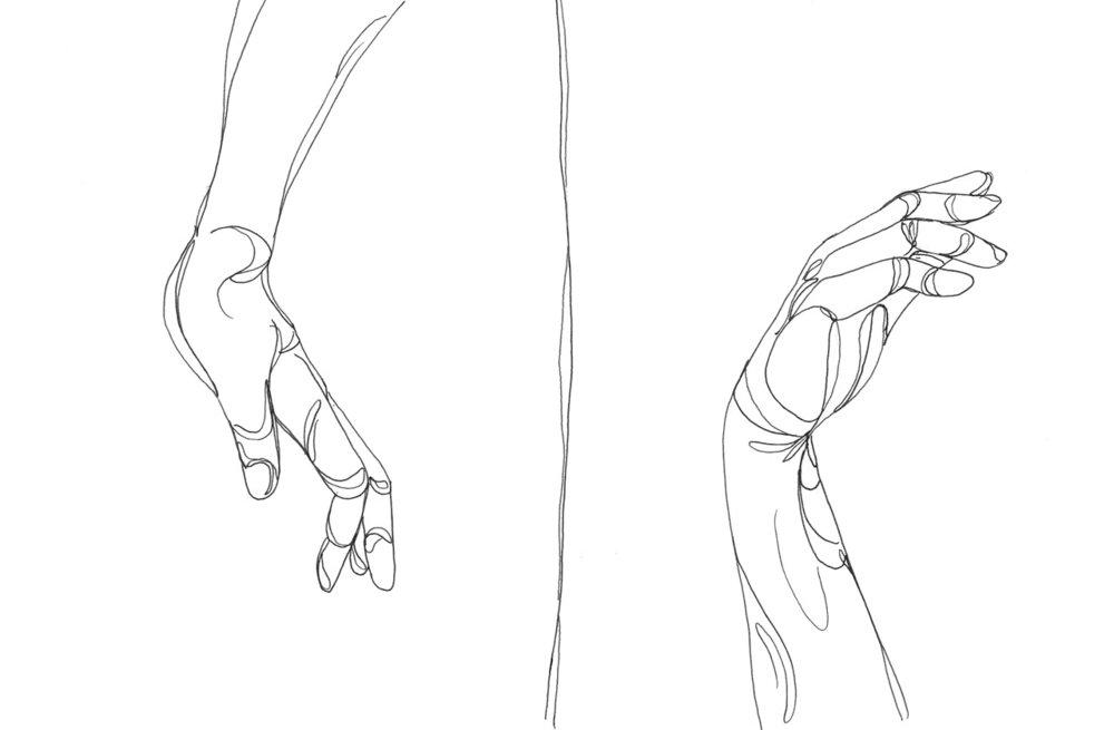 Fluid Hand Study