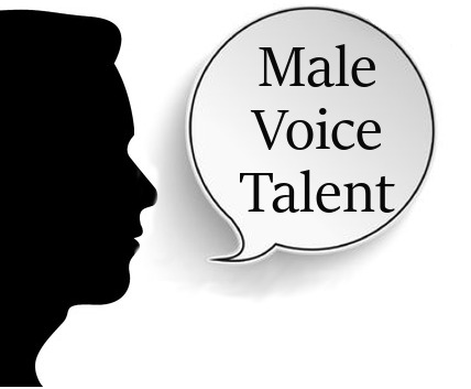Male voiceover talent