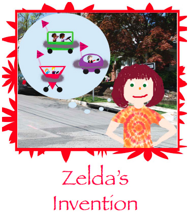 zelda's invention, a kids' story