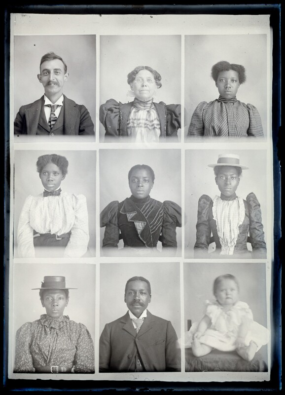 each of these people had their picture taken, one after the other, standing in line together. in the segregated south. and their inherent dignity stares right at us. man.
