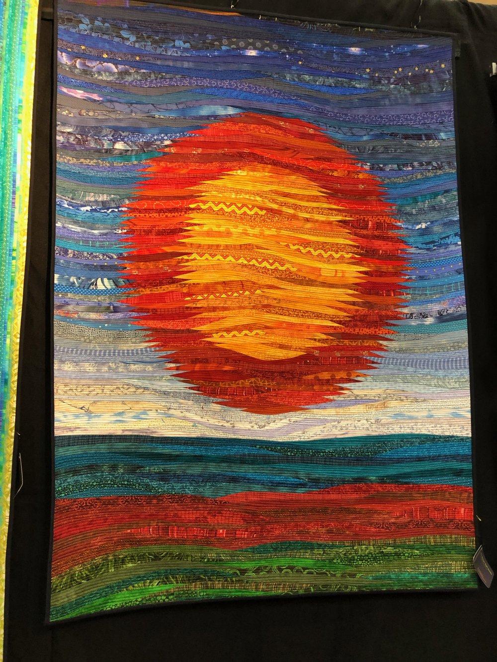 ann brauer   : stunning, bright quilts