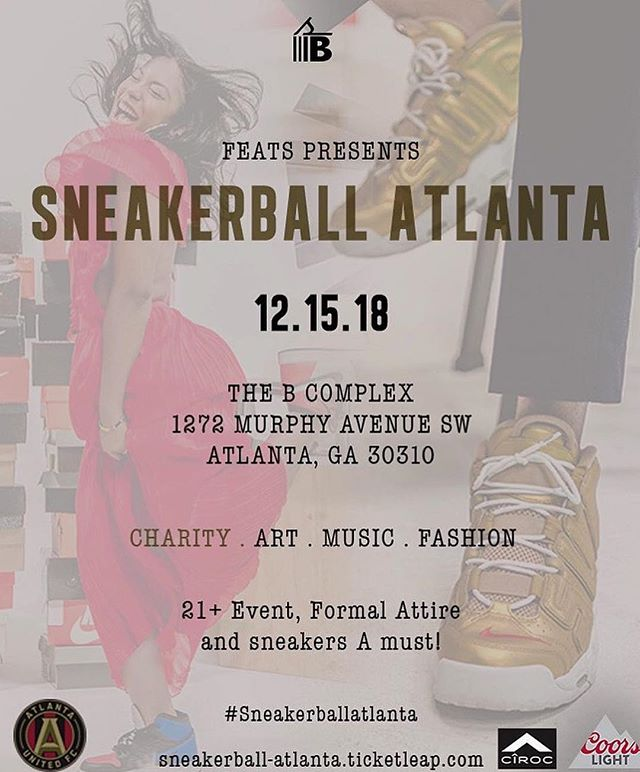 I would like to announce I will be hosting this years 2018 Sneakerball Atlanta!! @sb_atl has created a very special night for you!! @ciroc Open Bar All Night (With A VIP Ticket Purchase), Sneaker Art Installations,  A Sneaker Christmas 🎄 dope silent auction featuring Autographed items from @atlutd @carmeloanthony + more, live performances by @angelrwhite @danecaston and Music by @djhourglass.! So purchase your tickets NOW @sb_atl Tickets are LIMITED !! (Ticket Link In @sb_atl Bio) #sneakerball #sbatl #sneakerball2018 #sneakerballatlanta