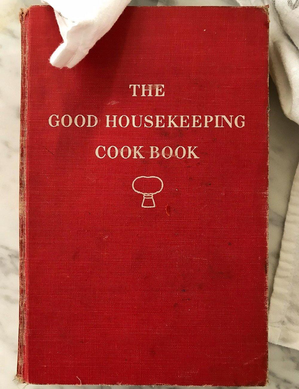 Vintage Good Housekeeping Cookbook