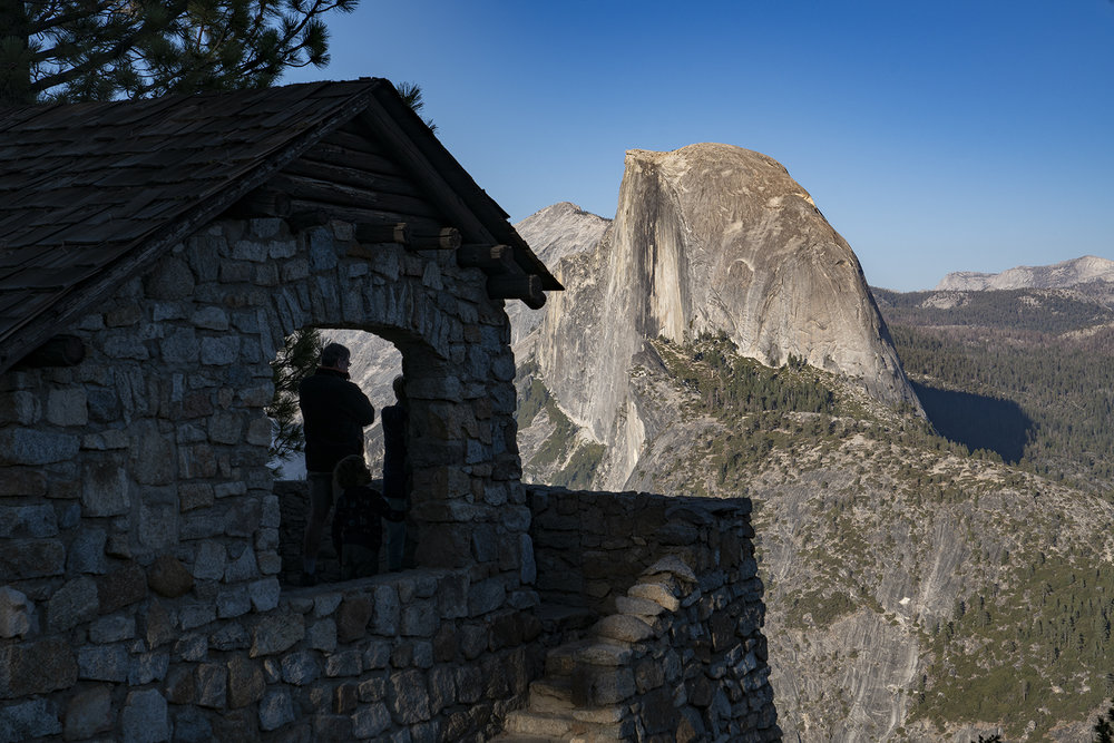 Observing Half Dome