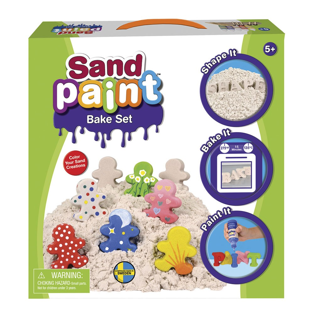 Sand Paint Bake Set