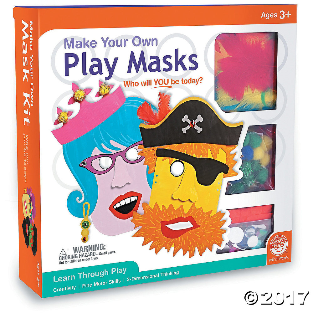DIY Play Masks