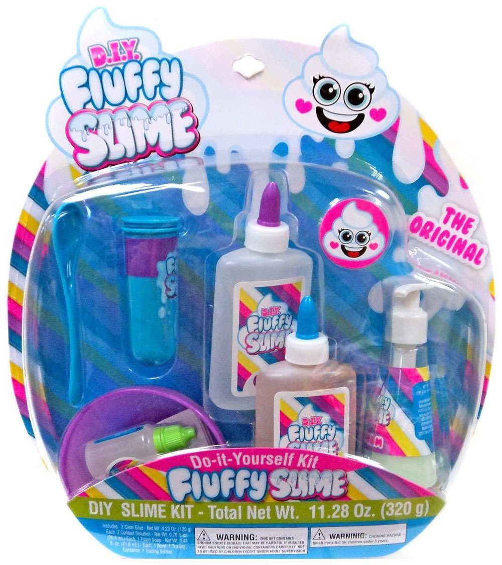 Fluffy Slime DIY