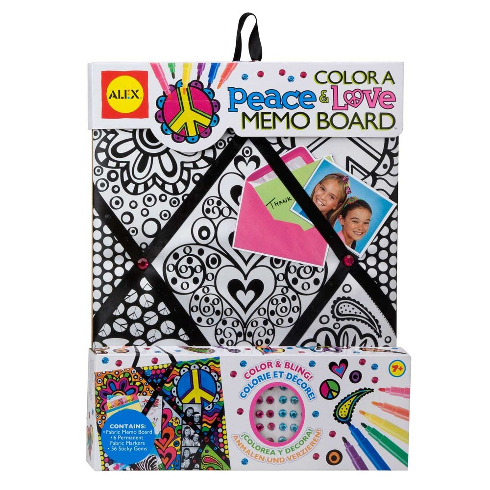 Peace & Love Memo Board