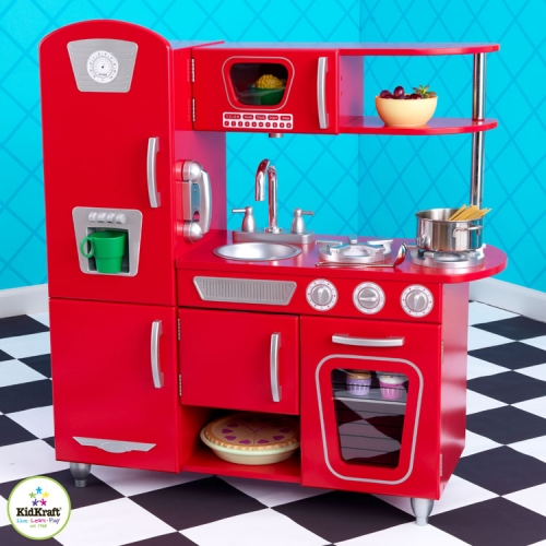 53156-4 KidKraft Red Retro Wooden Play Kitchen.jpg