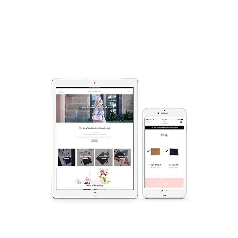 Light of Leni | Squarespace web design | Squarespace Expert