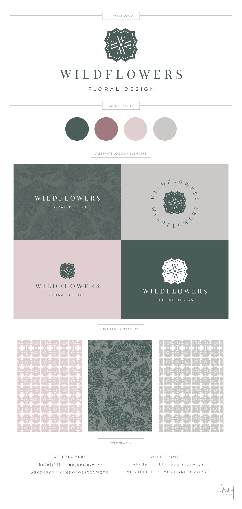 Wildflowers Fairhope | Branding by Hadley Binion