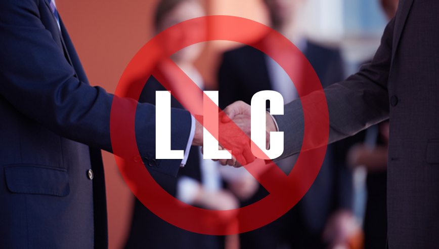 Who should NOT have an LLC