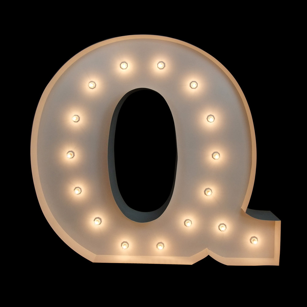 big letters For Hire Brisbane - Light UP letters