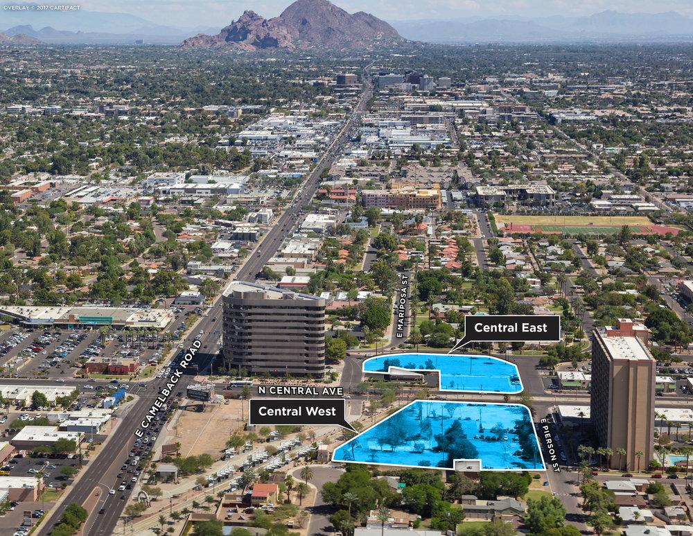 4 Central East & Central West Phoenix AZ Aerial3.jpg