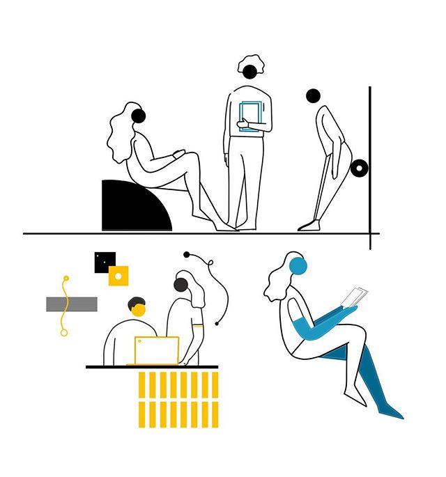 WIP ✨ swipe to see the sketch & progress video ✌🏼 • #illustration #digitalart #illustragram #digitalpainting #drawing #photoshop #wacom #colours #minimalistic #draw #sketch #video