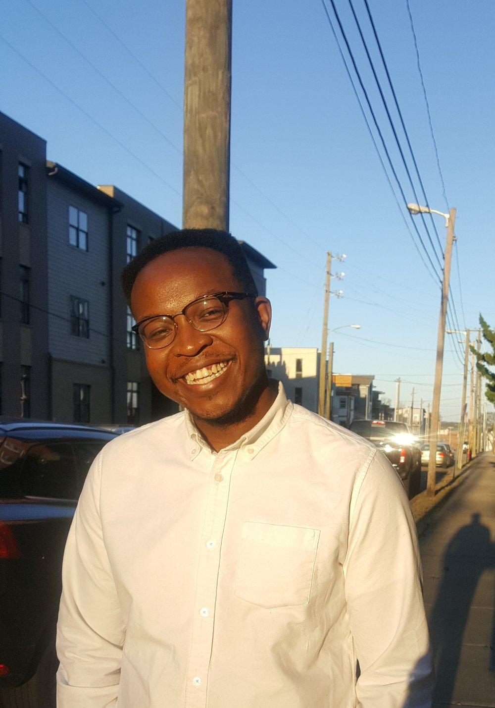 - Olatunde Osinaike is a Nigerian-American poet and software developer from the West Side of Chicago. He is the author of The New Knew, forthcoming from Thirty West Publishing House in the spring of 2019. A Best of the Net, Bettering American Poetry, and two-time Pushcart Prize nominee, his poems 'Mercy, Mercy Me' and 'When My Mother Speaks of New Edition' were recently selected by Kyle Dargan and the tandem of Safia Elhillo and Gbenga Adesina for inclusion in the 2018 Best New Poets and 20.35 Africa: Contemporary Poetry anthologies, respectively. An alumnus of Vanderbilt University, his most recent work has appeared, or is forthcoming, in RHINO, Glass: A Journal of Poetry, Apogee, Lunch Ticket, Puerto del Sol, and Columbia Poetry Review, among other publications. He is currently on poetry staff at The Adroit Journal. As a heads up, he is probably off rewatching The Office right now for the nth time, but you can find him on Twitter and Instagram at @tundelasoul, when he's not being as much of an introvert.Photo Credit: Audrianna Irving