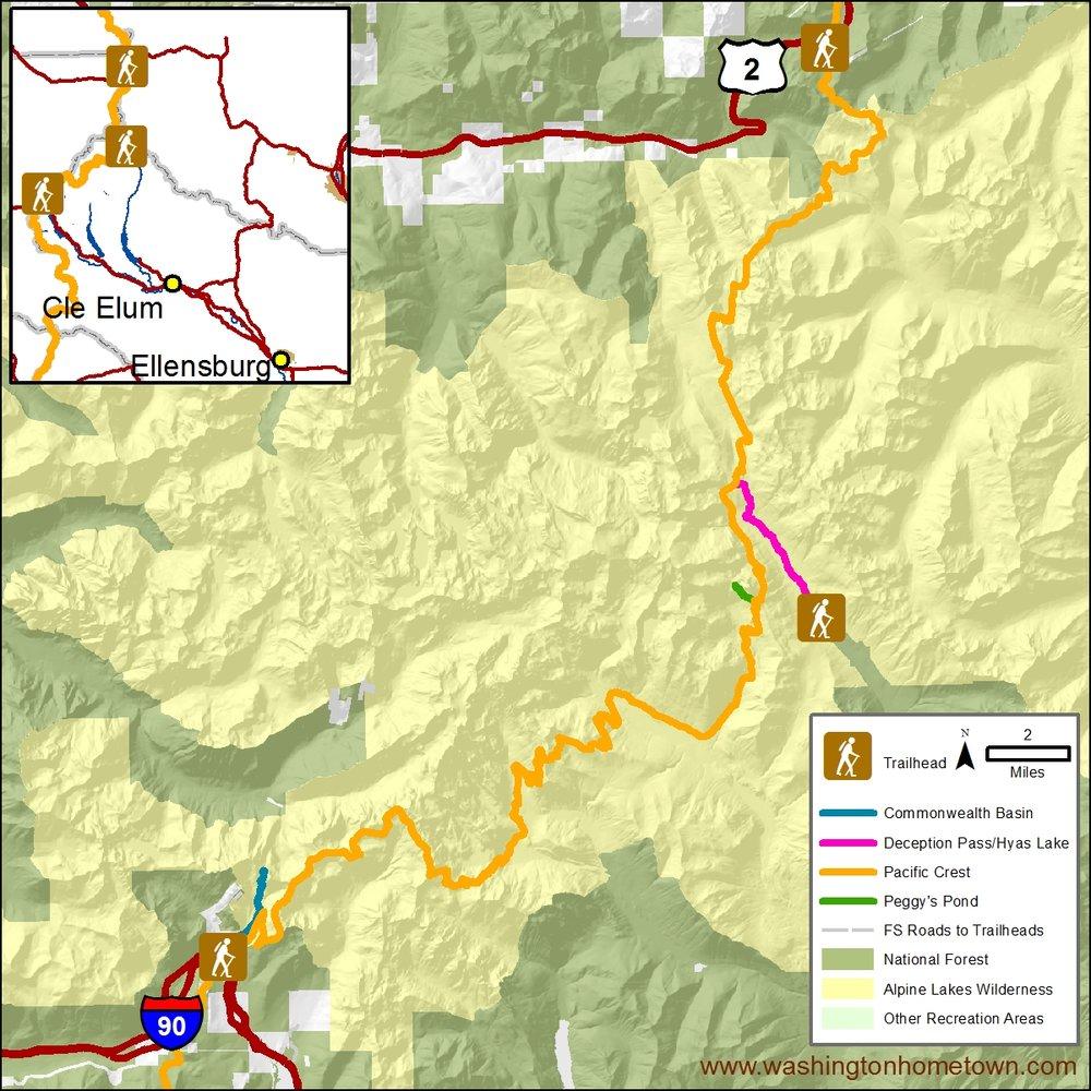 I-90 Hikes - Daily Record